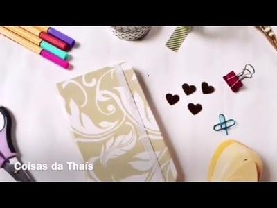 DIY- Caderno de Bolso