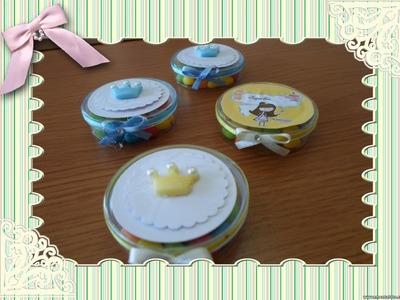 ✂ DIY: Lembrancinha  Aniversário - Chá de Bebê - Chá de Cozinha