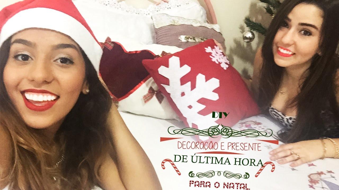 DIY- Presente e Decoração de Natal de Última Hora Ideias Rápidas e Fáceis | Leticia Souza DIY