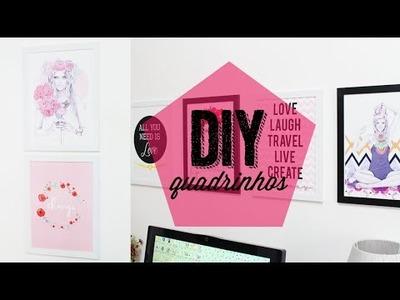 DIY: quadrinhos.pôsteres decorativos! ♡