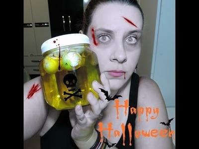 #Halloween 1 DIY | Pote de olhos.