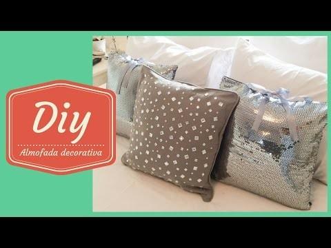 Diy- Aprenda a fazer uma almofada decorativa dia # 29