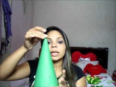 DIY. Faça você mesma: Árvore de Natal de bala