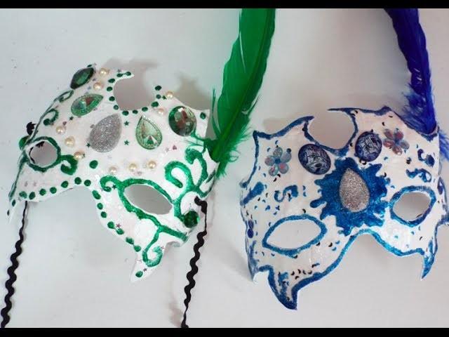 DIY: Máscara de carnaval