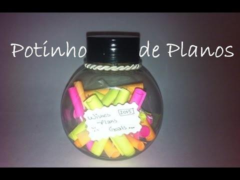 DIY: Potinho de planos para o Ano Novo! I Wish Jar