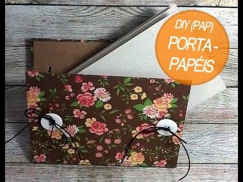 DIY - Cartonagem - Porta-Papéis Suspenso