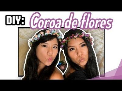DIY: Coroa de flores | Blog das irmãs