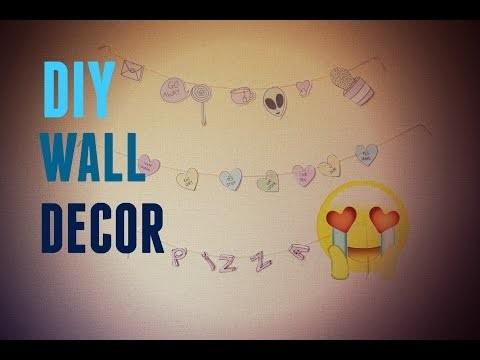 ✂️️DIY | Decoração Para Parede ( wall decor )