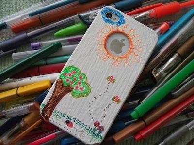 DIY: Faça voce mesma uma linda capinha personalizada para seu do iphone