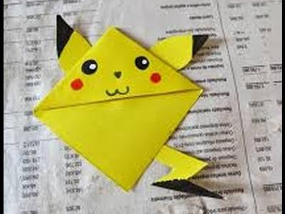 DIY- Marcadores de livro do pikachu