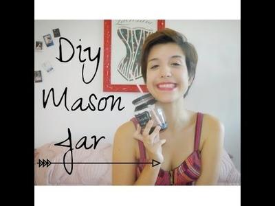 DIY - MASON JAR CUP ou COPO POTE