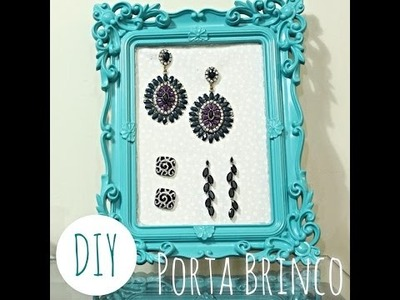 DIY: Porta Brincos por Elisa Bighetti