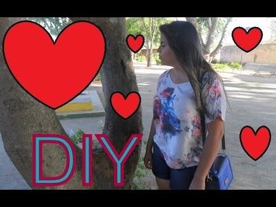DIY: Almofada de coração. #Diadosnamorados #amor #Valentine's day
