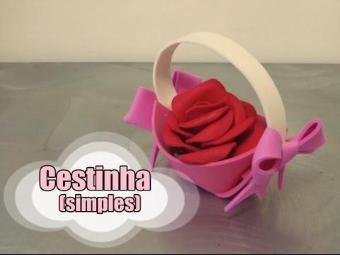 DIY.: Cestinha (simples)
