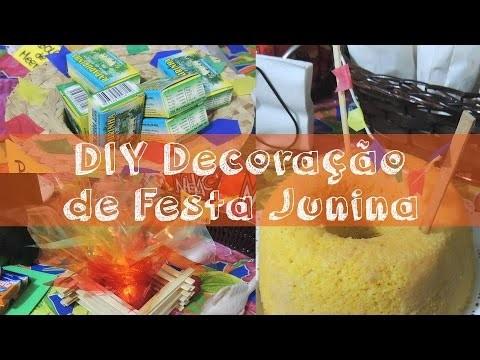 DIY - Decoração de Festa Junina