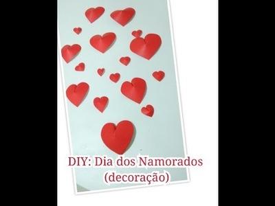 DIY: Dia dos Namorados - Coração de papel - Decoração