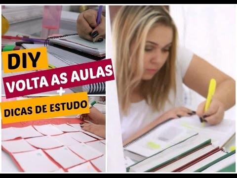 DIY VOLTA ÀS AULAS   Dicas, decoração e Organização