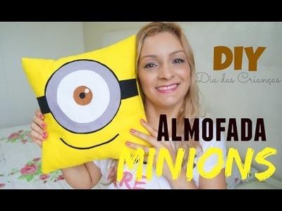 Almofada de Minions | DIY Dia das Crianças