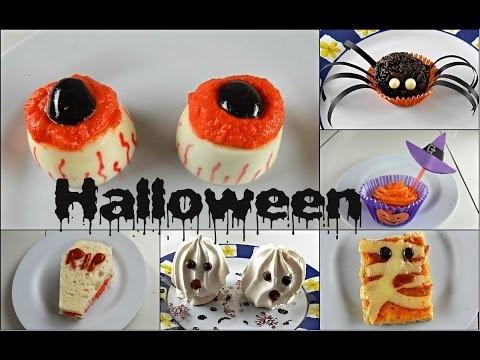 DIY: Comidas decoradas para Halloween (Halloween food), 7 ideias.