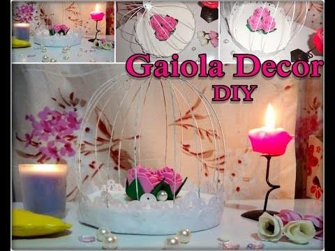 {DIY} Gaiola Decorativa Chás.Noivado.Casa