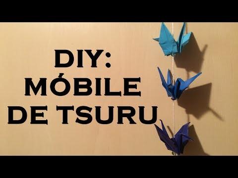 DIY: Móbile de tsuru