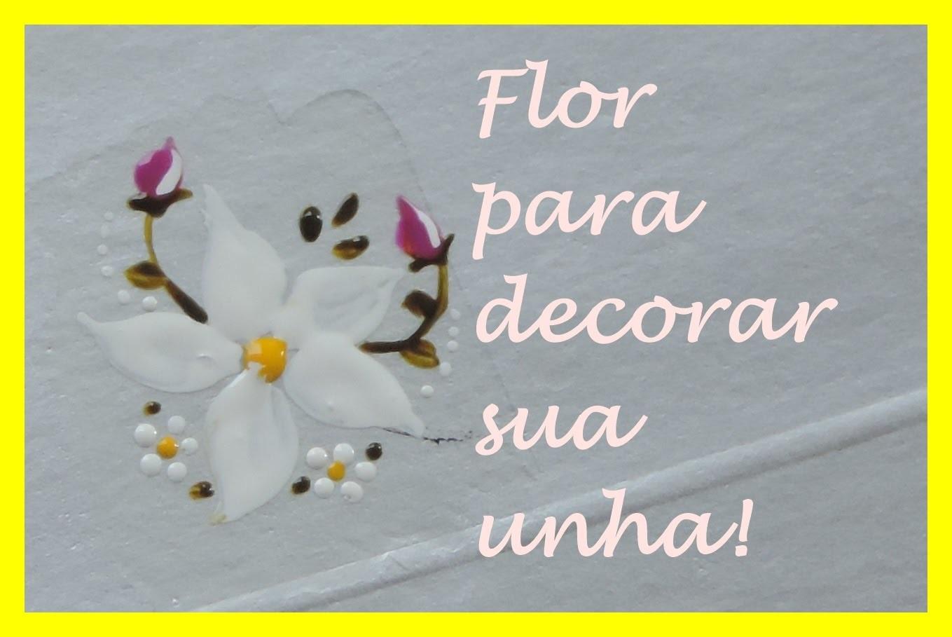 #19 DIY: Flor para Francesinha.  Por Vanessa Carneiro