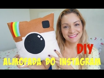 Almofada do Instagram DIY