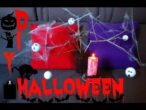 Diy Halloween decoração-Vela sangrenta e Árvore de terror•