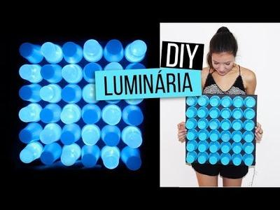 DIY: luminária de copos | aprenda fazer