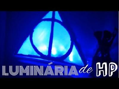 DIY: Luminária de HP ( as relíquias da morte)