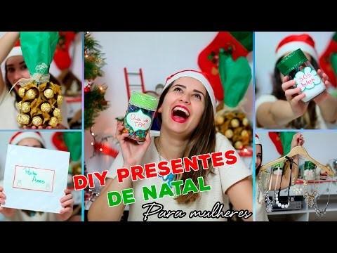 DIY | Presentes de natal PARA ELA.para mulheres
