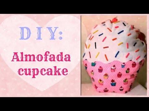 DIY: Almofada cupcake