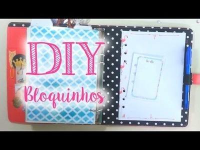 DIY - Bloquinhos para seu planner