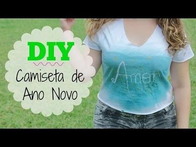 DIY | Camiseta para o ANO NOVO. REVÉILLON