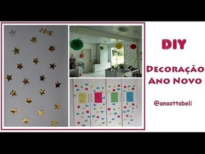 DIY Decoração Réveillon | Ana Ottobeli