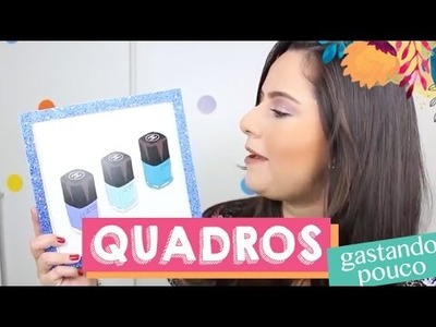 DIY: Quadrinhos Gastando Pouco ♥ Priscila Paes