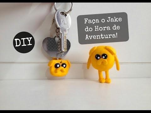 COMO FAZER O JAKE  DO DESENHO HORA DE AVENTURA! - DIY #Inspire-se (Jake adventure time)