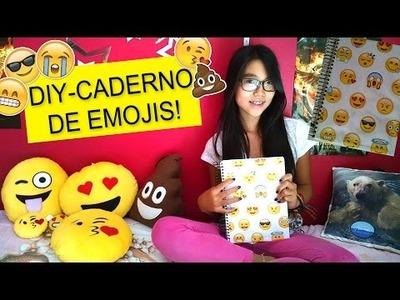 D.I.Y- Caderno de emojis- back to school :)