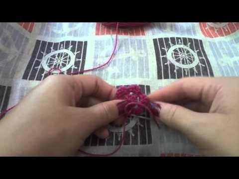 Diy: Como fazer um chaveiro de flor em croche