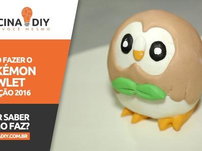 Como Fazer o Pokémon Rowlet - Nova geração 2016 | Oficina DIY #34