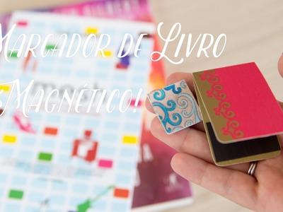 DIY • Como fazer marcador de livro magnético :)