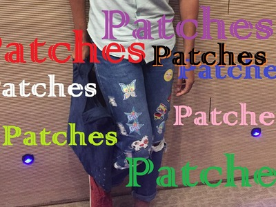 DIY | Customizando sua CALÇA com Patches