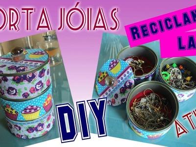 DIY :: Porta Jóias com Latas Recicladas de ATUM