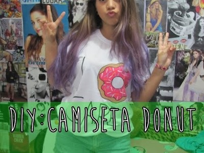 DIY: Camiseta de Donut do Simpsons. I Donut Care
