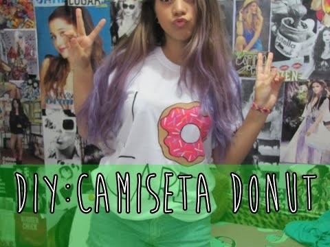 DIY: Camiseta de Donut do Simpsons. I Donut Care