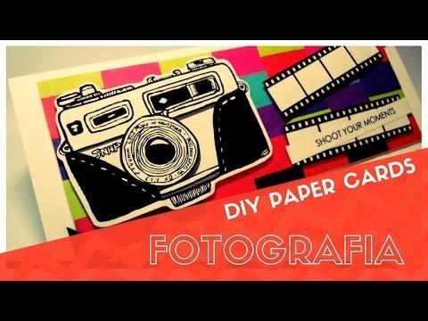 DIY CARTÃO: Fotografia | Paper Card: Photography