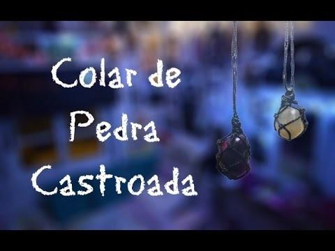 DIY - Colar de Pedra Castroada