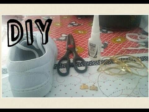 DIY: Customizando o tênis com 5,00 R$