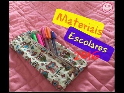 DIY: Material Escolar 2016 - Especial Volta as Aulas