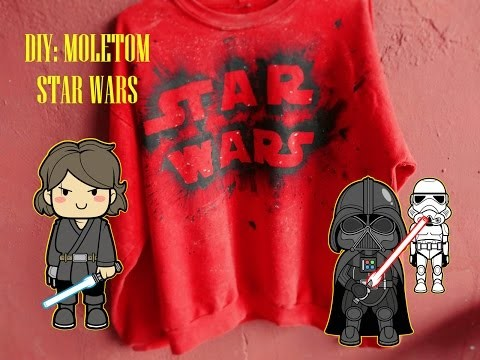 DIY : MOLETOM STAR WARS